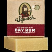 Dr. Squatch Bay Rum Natural Bar Soap - 5 oz