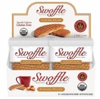 Swoffle  Organic Waffle Cookie Stroopwafel Gluten Free   Caramel - 16 Waffle Cookies