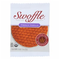 Swoffle Dutch Waffle - French Vanilla - Case of 16 - 1.16 oz. - Case of 16 - 1.16 OZ each