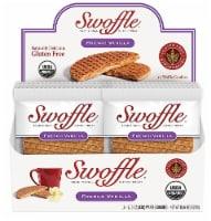 Swoffle  Organic Waffle Cookie Stroopwafel Gluten Free   French Vanilla - 16 Waffle Cookies