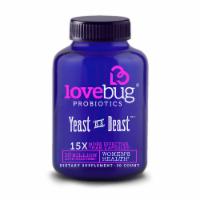 Lovebug Probiotics Yeast is a Beast Capsules