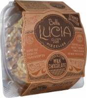 Bella Lucia  Pizzelles Waffle Cookie Gluten Free   Milk Chocolate