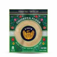 Siete Chickpea Flour Tortillas - 8 ct / 7 oz