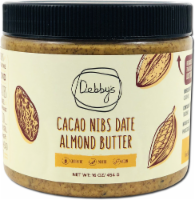 Debby's  Cacao Nibs Date Almond Butter