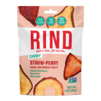 Rind Snacks - Drd Fruit Blend Straw-peary - Case of 12 - 3 OZ