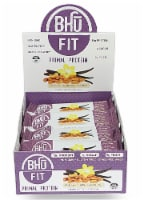 BHU  Fit Primal Grass-Fed Whey Protein Bar   Vanilla Almond Cashew
