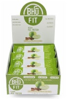 BHU  Fit Vegan Organic Pea Protein Bar   Apple Chunk+Cinnamon+Nutmeg