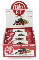 BHU  Fit Vegan Pea Protein Bar   Chocolate+Tart Cherry+Pistachio