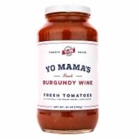 Yo Mama's Foods French Burgundy Wine Tomato Sauce