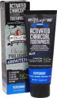 My Magic Mud  Whitening Toothpaste with Activated Charcoal   Peppermint