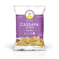 Artisan Tropic Sea Salt Cassava Yuca Strips