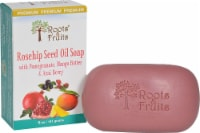 Roots & Fruits Bar Soap Rosehip Seed Oil