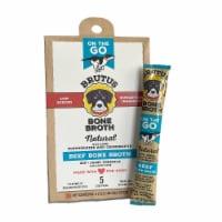Brutus Bone Broth on the Go - 5 sticks/40 ounces