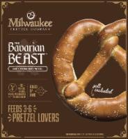 Milwaukee Pretzel Company The Bavarian Beast Soft Pretzel - 16 oz