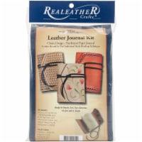 Leathercraft Kit-Light Tan Journal - 1