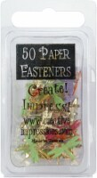 Creative Impressions Painted Metal Paper Fasteners 50/Pkg-Dragonflies - Tropical - 1