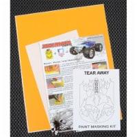 XXX Main Racing XXXM036L Tear Away Paint Mask - 1