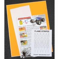 XXX Main Racing XXXM040L Flame Stripes Paint Mask