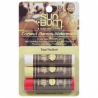 Sun Bum Lip Balm SPF 30 Variety Pack - 3 ct