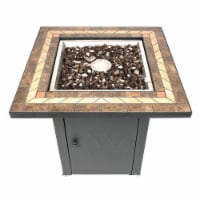 Pleasant Hearth Atlantis Gas Fire Pit Table