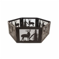 Pleasant Hearth Deer Mountain Folding Fire Ring