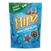 Flipz Holiday Milk Chocolate Covered Pretzels