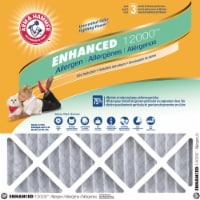 Arm and Hammer Enhanced 12000 Air Conditioner Filter - White/Gray