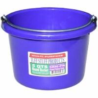 Tuff Stuff Products SRNPR 5 qt. Round Bucket, Purple