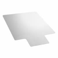 Floortex Ultimat 48 x 60  Clear Lipped Chair Mat w/ Grip Back, For Plush Carpet - 1 Piece