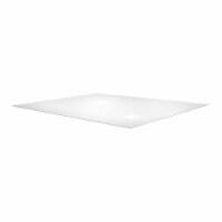 Floortex Solutions FR1115015023ER Clear Floor Office Chair Mat, 60 x 60 Inch - 1 Piece