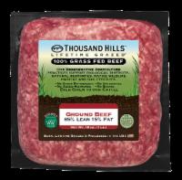 Thousand Hills 85% Lean Ground Beef - 16 oz