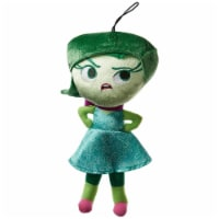 Disney Inside Out Disgust Zippered Hanger 12 Inch Plush Figure