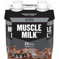 Muscle Milk Pro Series Knockout Chocolate Non-Dairy Protein Shake