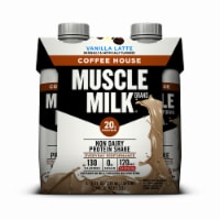Muscle Milk Vanilla Latte Coffee House Non Dairy Protein Shake (3 Pack)