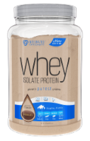 Integrated Supplements Whey Isolate Chocolate Protein Powder