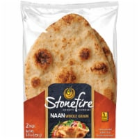 Stonefire Naan Whole Grain Flatbread 2 Count