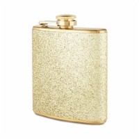 Sparkletini Stainless Steel Gold Flask by Blush® - Set of 1