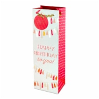 Cakewalk™ Happy Birthday Tassel Garland Wine Bag