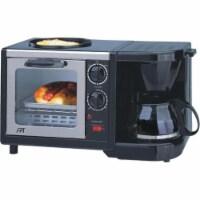 Sunpentown BM-1107 3-in-1 Stainless Steel Breakfast Maker - 1