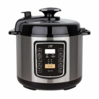 Sunpentown EPC-13C 6.5-Quart Stainless Steel Electric Pressure Cooker with Quick Release Butt