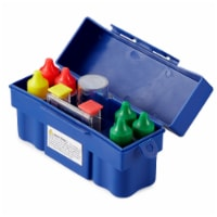 Suncast DCP2000 Portable Outdoor Patio Prep Serving Station Table and Cabinet - 1 Unit