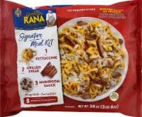 Rana Fettuccine Grilled Steak with Mushroom Sauce Signature Meal Kit