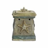 Scentsationals Home Decorative Scented By The Sea Full Size Ceramic Wax Warmer - Cream - 1 unit