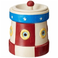 Scentsationals 001-78014 Lighthouse Full Size Ceramic Wax Warmer, Red/White/Blue - 1 Count