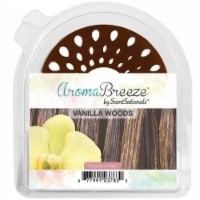 "Scentsationals 1-Aromabreeze Fragrance Disc Halo - Vanilla Woods, 3"" X 3.5"" X 0.5"", White - 1 unit"