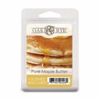 Oak & Rye Pure Maple Butter Wax Cubes - 6 Pack