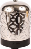 AmbiEscents Cankiri Diffuser and Canopy Set - Silver - 3.625 x 3.625 inch