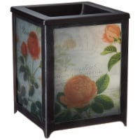 Scentsationals 001-78157 Rose Blooms Full Size Wax Warmer, Frosted Glass, Grey - 1 Count