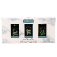 AmbiEscents™ Just Breathe Essential Oil Set