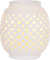 AmbiEscents Petra Wax Warmer - White